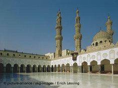 Al-Azhar-Moschee in Kairo; Foto: dpa