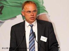 Ulf Gebken from Oldenburg University (photo: LSB/NRW)