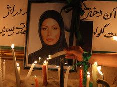 Grab von Neda Agha Soltan; Foto: dpa