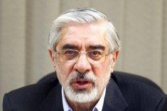 Mir Hossein Mussawi; Foto: dpa