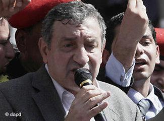 Ägyptens Ministerpräsident Essam Sharaf; Foto: dapd