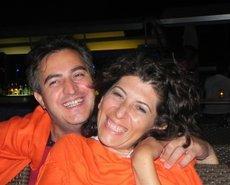 Özel Aydin zusammen mit seiner Frau; Foto: Semiran Kaya