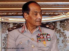 Verteidigungsminister Hussein Tantawi; Foto: dpa