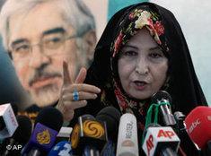 Zahra Rahnavard; Foto: AP