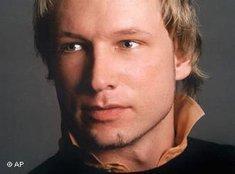 Anders Behring Breivik; Foto: AP