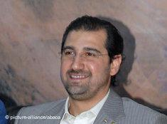 Rami Makhlouf, Cousin Bashar al-Assads; Foto: picture alliance