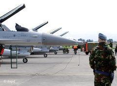 Nato-Kampfjets in Italien vor dem Einsatz in Libyen; Foto: dapd