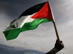 Palästinensische Fahne; Foto: DW-TV