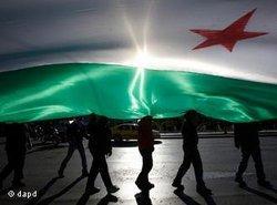 Demonstration von Regimegegnern in Athen; Foto: dapd