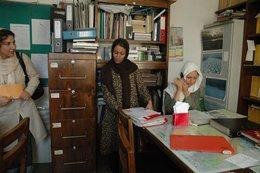 Studentinnen in Mirhadis NGO; Foto: Alessandro Topa
