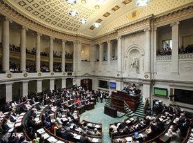 Parlament in Belgien; Foto: AP