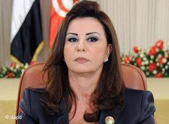 Präsidentengattin Leila Trabelsi; Foto: dapd