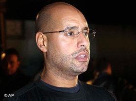 Saif al-Islam Gaddafi; Foto: AP