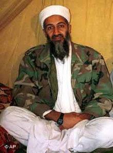 Osama Bin Laden; Foto: AP