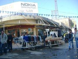 Straße in Kirkuk; Foto: Rigien Bagekany