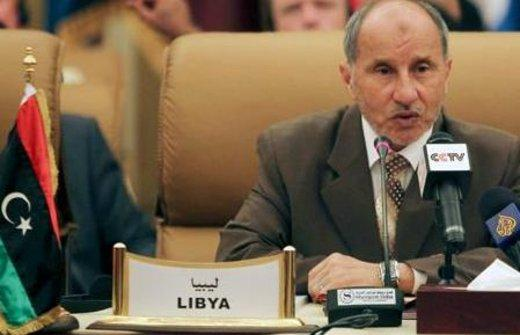 Vorsitzender des Übergangsrates Mustafa Abdul-Jalil; Foto: Osama Faisal/AP/dapd