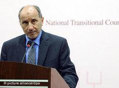 Mustafa Abdel Jalil; Foto: dpa