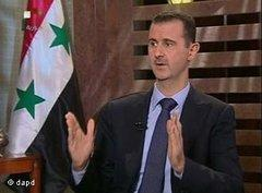 Syriens Präsident Assad; Foto: dapd