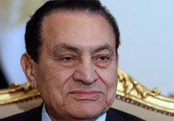 Ägyptens Präsident Hosni Mubarak; Foto: dpa