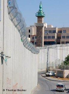 Trennmauer in Jerusalem; Foto: © Thomas Becker/DW