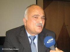 Prince El Hassan bin Talal of Jordan at Deutsche Welle in Bonn, Germany (photo: DW)
