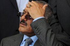 Jemens Präsident Saleh; Foto: AP