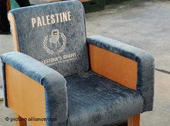 Leerer Sitz Palästinas in UN-Hauptquartier; Foto: EPA