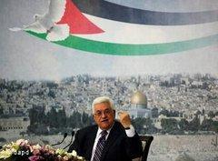 Palästinenserpräsident Abbas; Foto: dapd