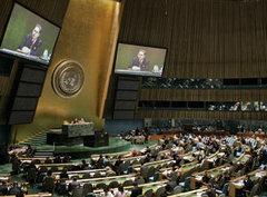 Sitzung des UN-Sicherheitsrats in New York; Foto: AP