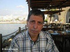 Jabir Sleiman of the refugee organisation