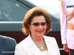Suzanne Mubarak; Foto: dpa