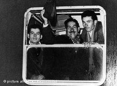 Ankunft türkischer Gastarbeiter in Deutschland 1966; Foto: © picture alliance