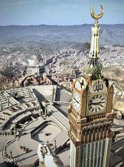 Abraj Al-Bait Makkah Clock Royal Tower in Mekka; Foto: AP
