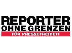Logo von Reporter ohne Grenzen (ROG)