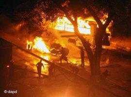 Ausschreitungen in Kairo vom 9. Oktober 2011; Foto: dapd