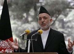 Afghanistans Präsident Karsai; Foto: AP