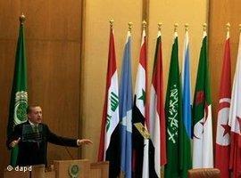 Erdogan beim Treffen der Arabischen Liga in Kairo; Foto: dapd