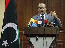 Der amtierende Regierungschef Mahmud Dschibril; Foto: dapd