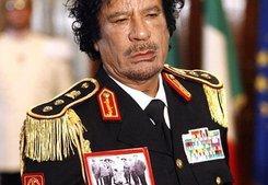 Muammar al-Gaddafi; Foto: AP