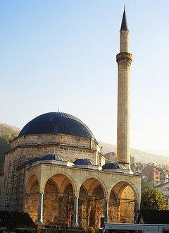 Sinan Pasha Mosque in Prizren; Foto. wikipedia