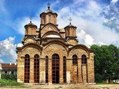 Die Klosterkirche Gračanica aus dem Jahr 1311; Foto: wikipedia