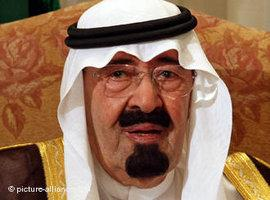 König Abdullah von Saudi-Arabien; Foto: picture alliance