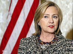 US-Außenministerin Hillary Clinton; Foto: AP
