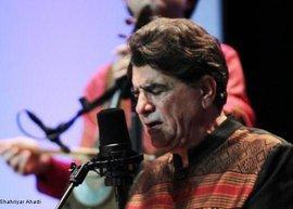 Mohammad Reza Shajarian während eines Konzerts in Köln; Foto: © Shahriyar Ahadi