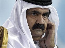 Hamad bin Chalifa Al Thani Scheich von Katar; Foto: AP