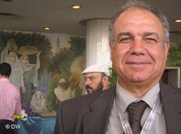 Baha'eddin Shaaban, Führungsmitglied der Sozialistischen Partei Ägyptens; Foto: DW