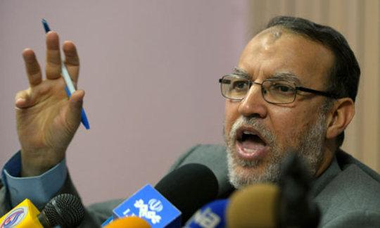 Essam El-Eryan, stellvertretender Vorsitzender der Partei für Freiheit und Gerechtigkeit; Foto: AP