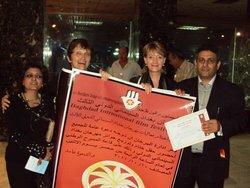 Veranstalter eines Filmfestivals in Bagdad; Foto: Birgit Svensson