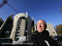 Architekt der Kölner Moschee, Paul Böhm; Foto: picture alliance