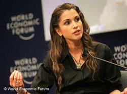 Königin Rania von Jordanien auf dem Weltwirtschaftsforum Nahost in Jordanien; Foto: World Economic Forum